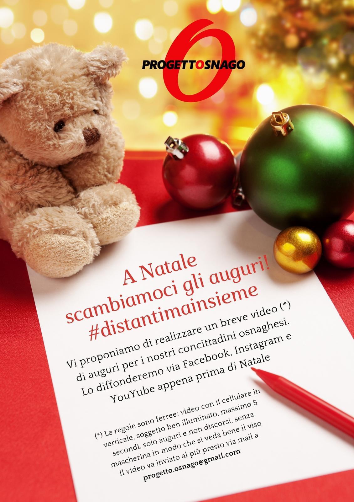 Discorsi Di Auguri Per Natale.Iniziativa Natalizia Di Progetto Osnago Dentro Fuori